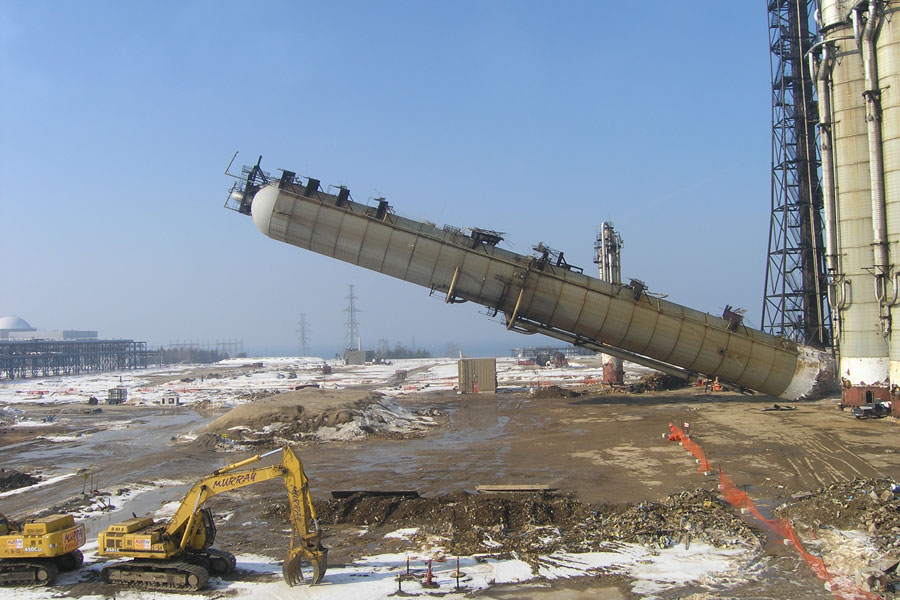 Heavy Water Dismantle