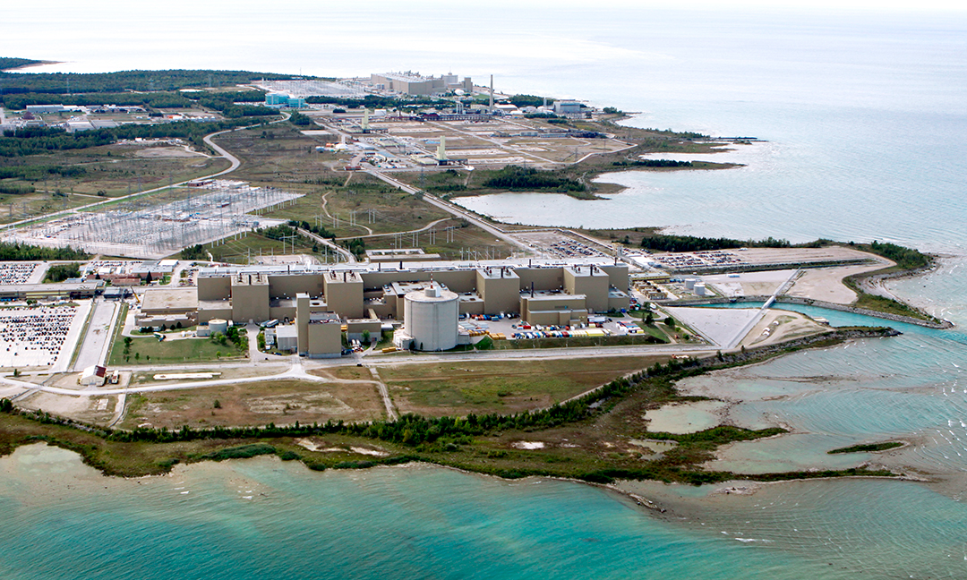 Bruce Power from the air