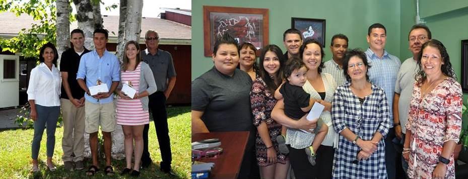 Indigenous Scholarship winners