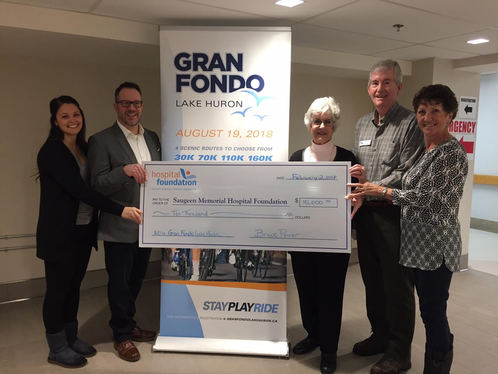 Gran Fondo donation
