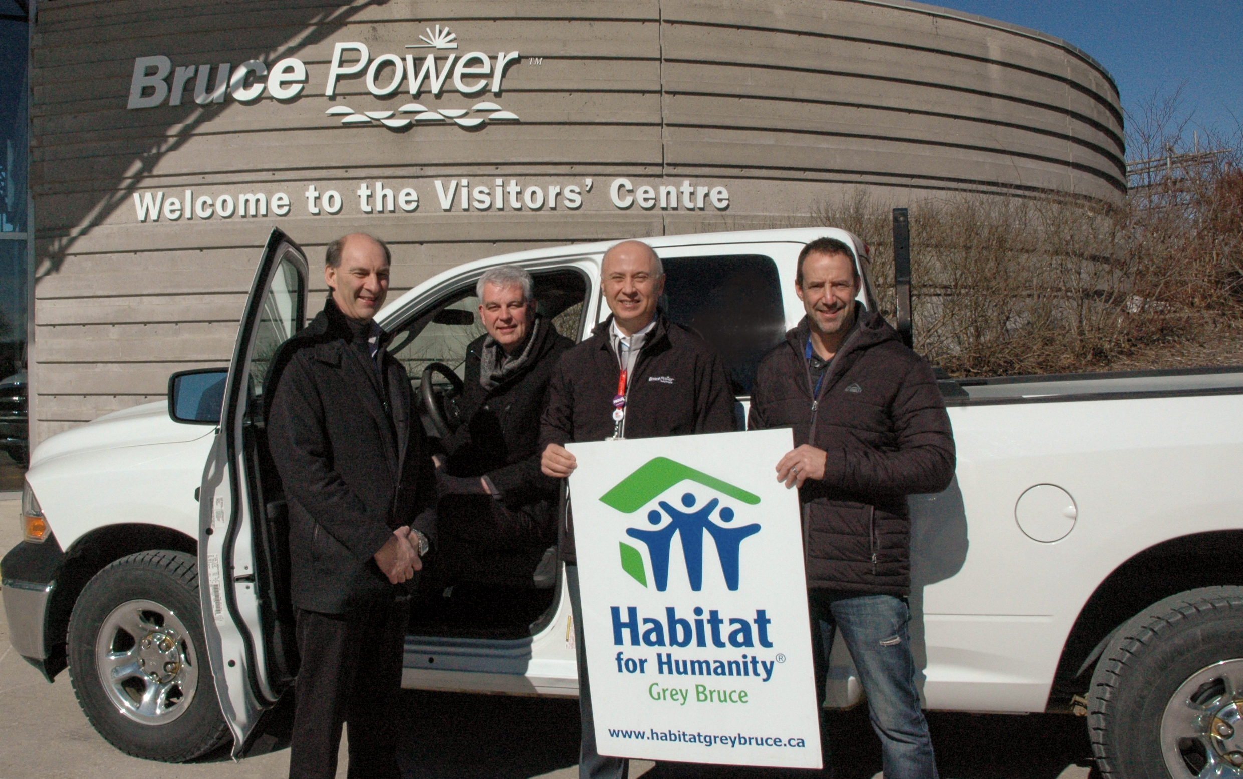 Truck donation to Habitat for Humanity