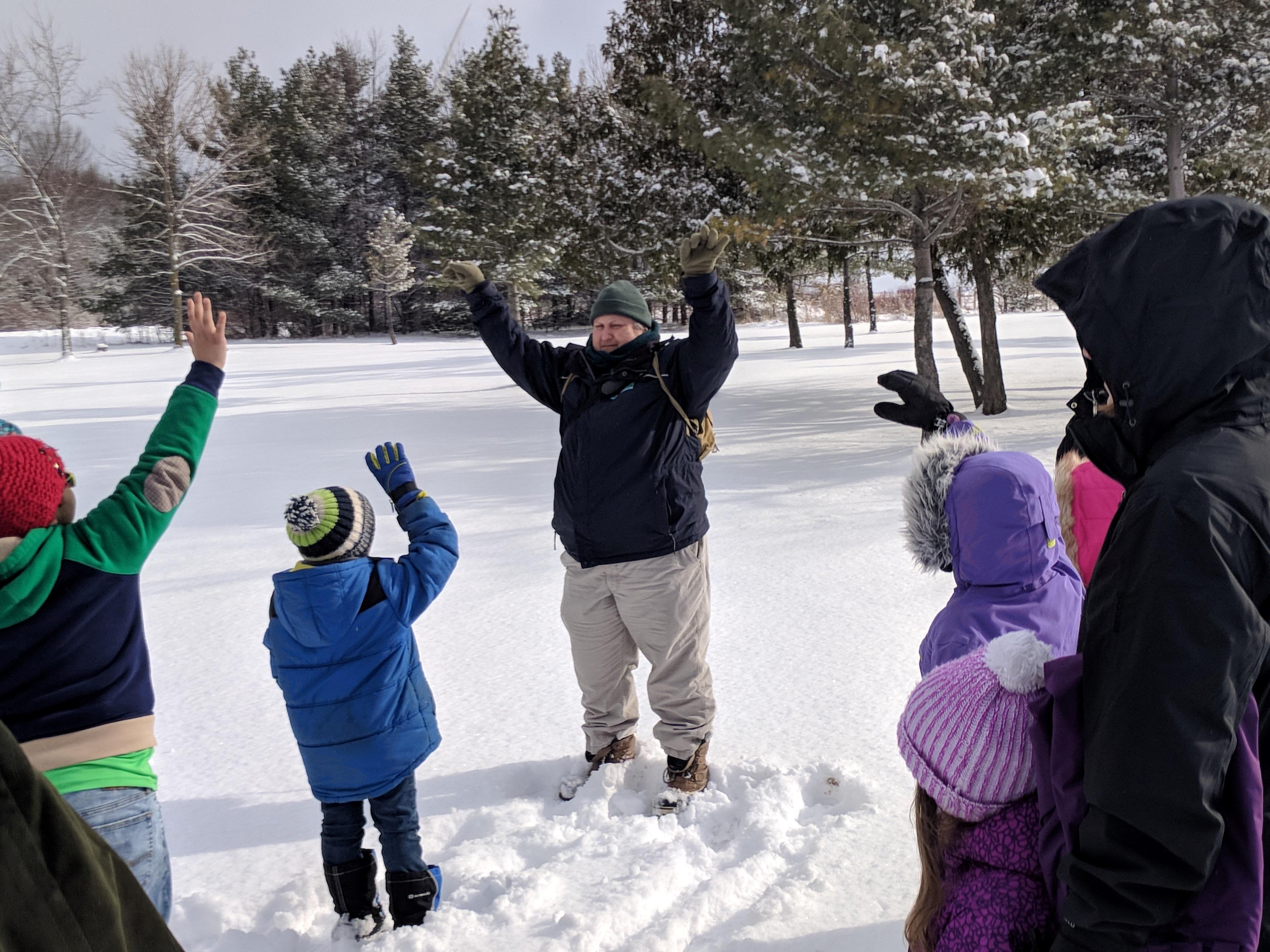 DEER Program outdoor activity