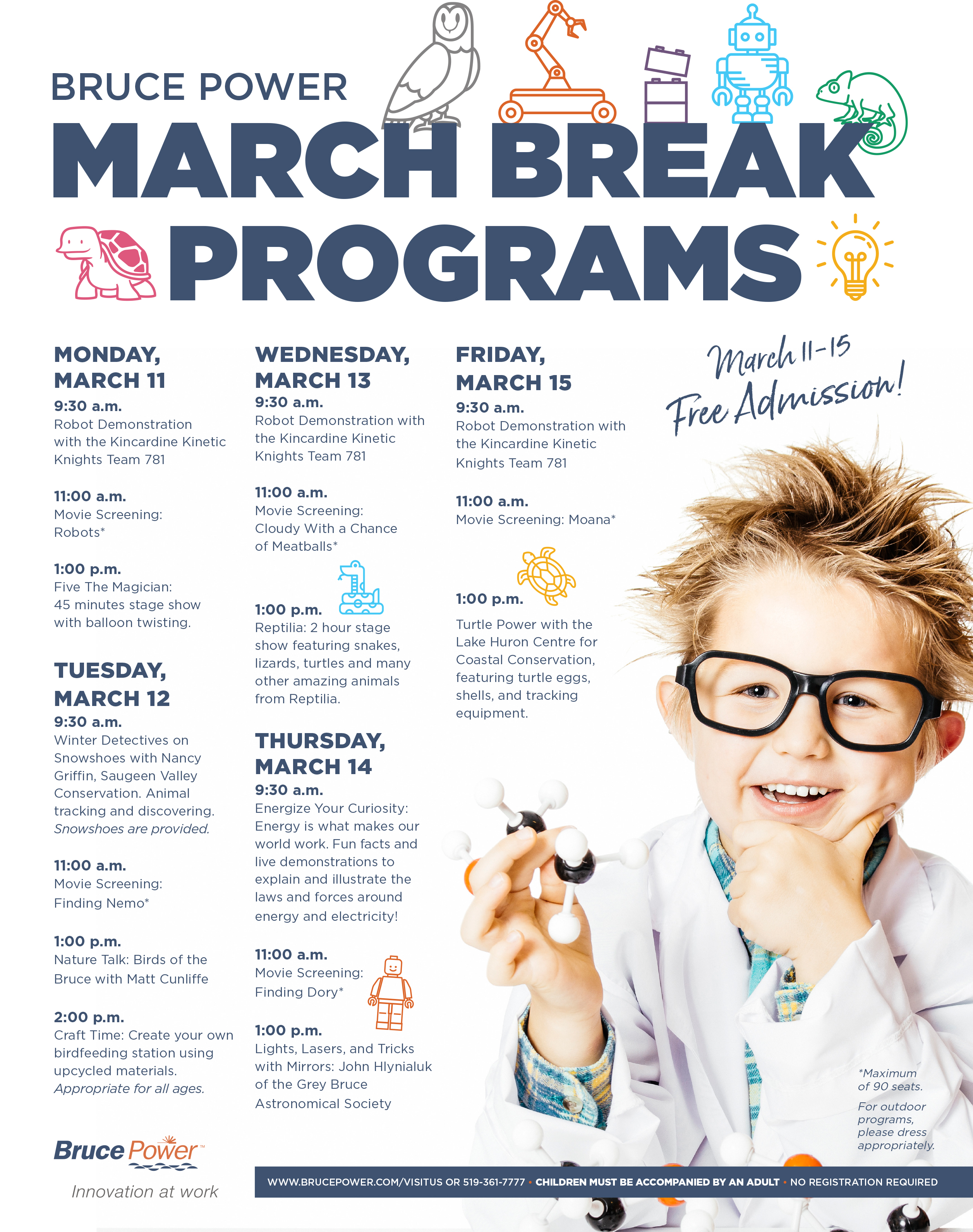 March Break Programs advertisement