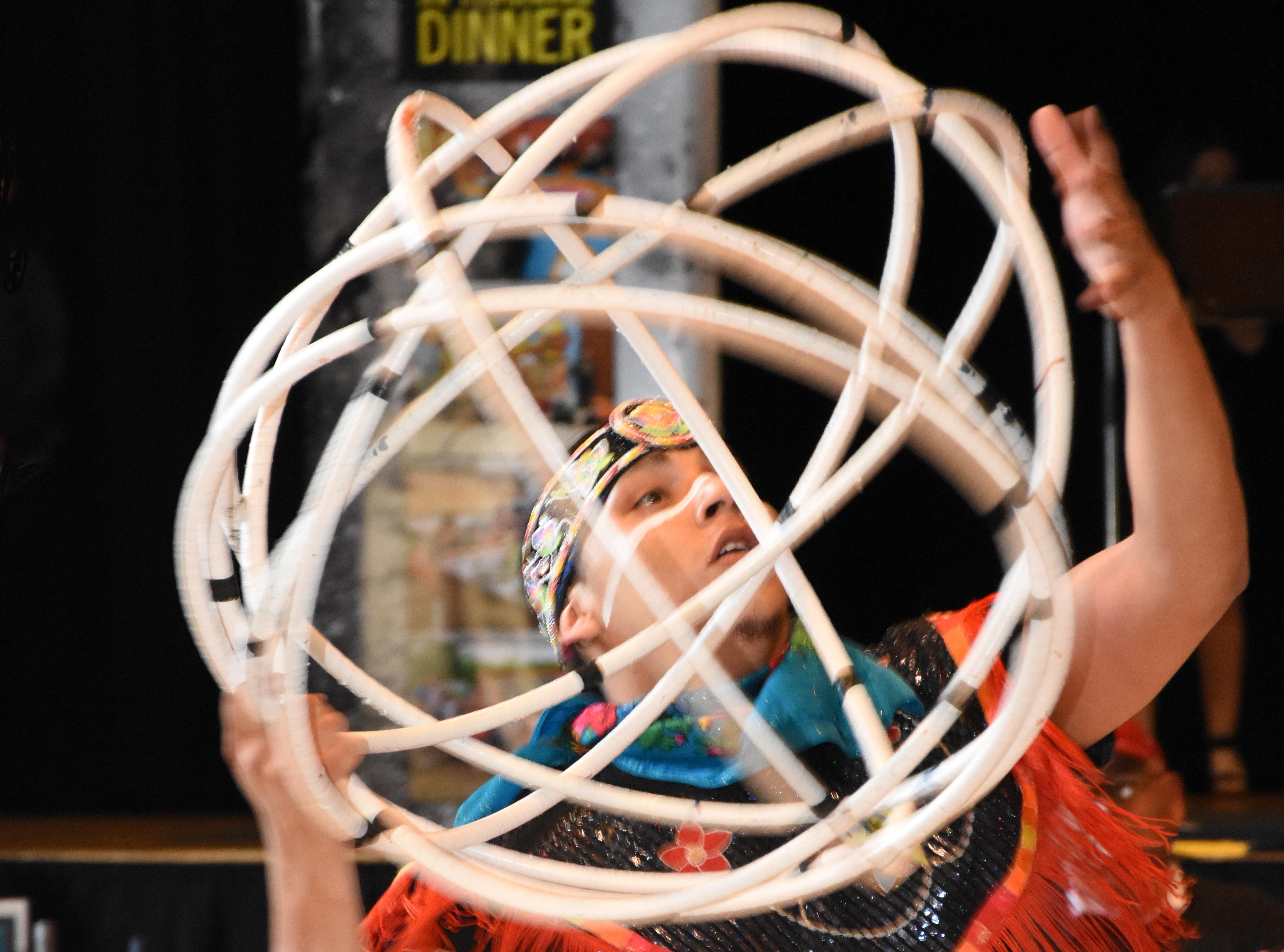 Indigenous Hoop Dancer