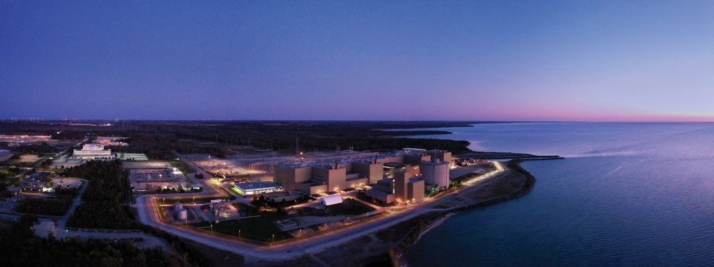Bruce Power Aerial View