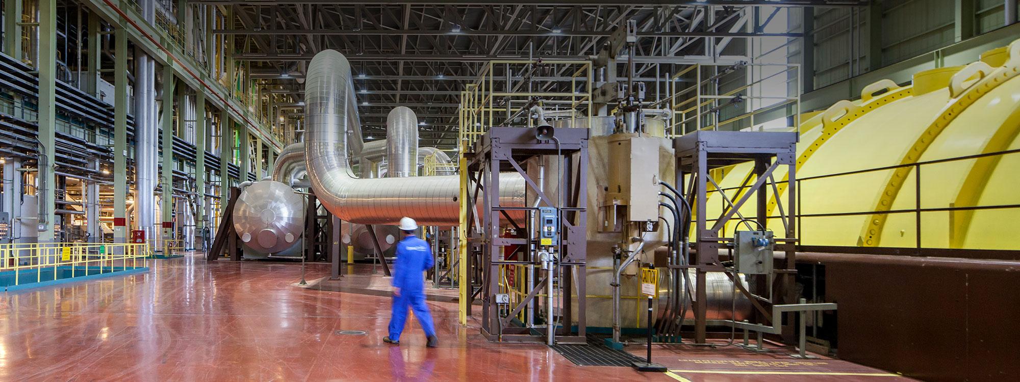 Turbine Floor