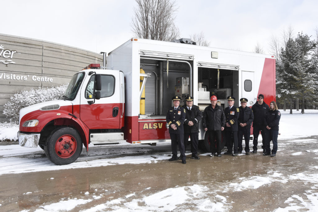 Air Light Support Vehicle donated to Grey County