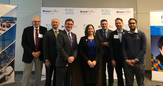 Dignitaries mark collaboration between Bruce Power and POGO