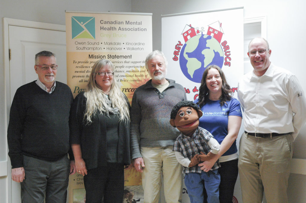 Donation to Canadian Mental Health Association Grey Bruce