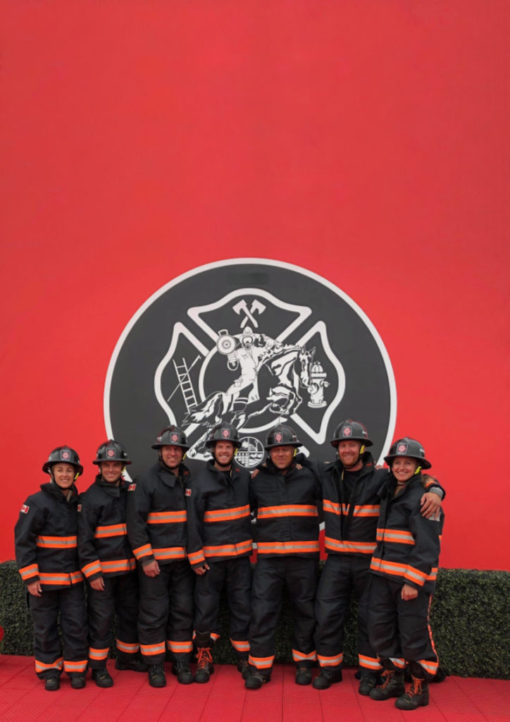 Members of Bruce Power Firefit Team