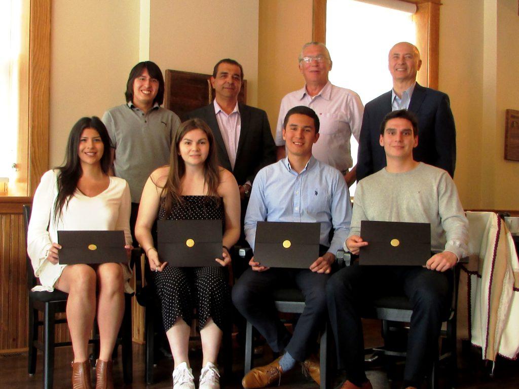 Indigenous scholarship recipients