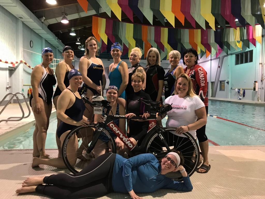 Women's Triathlon donation