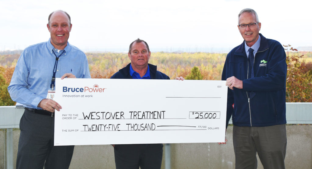 Donation to Westover Treatment Centre