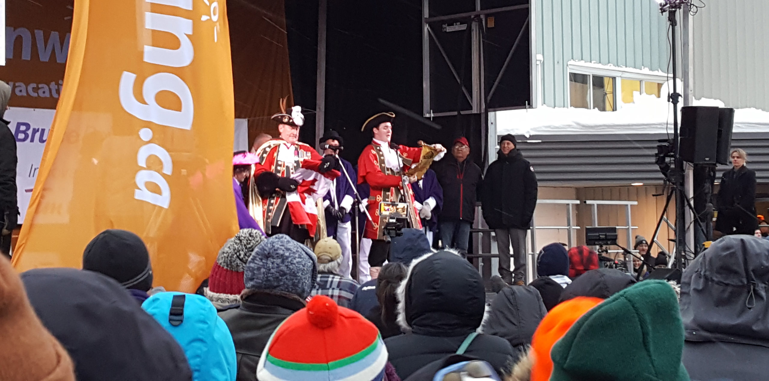 Wiarton Willie event 2019