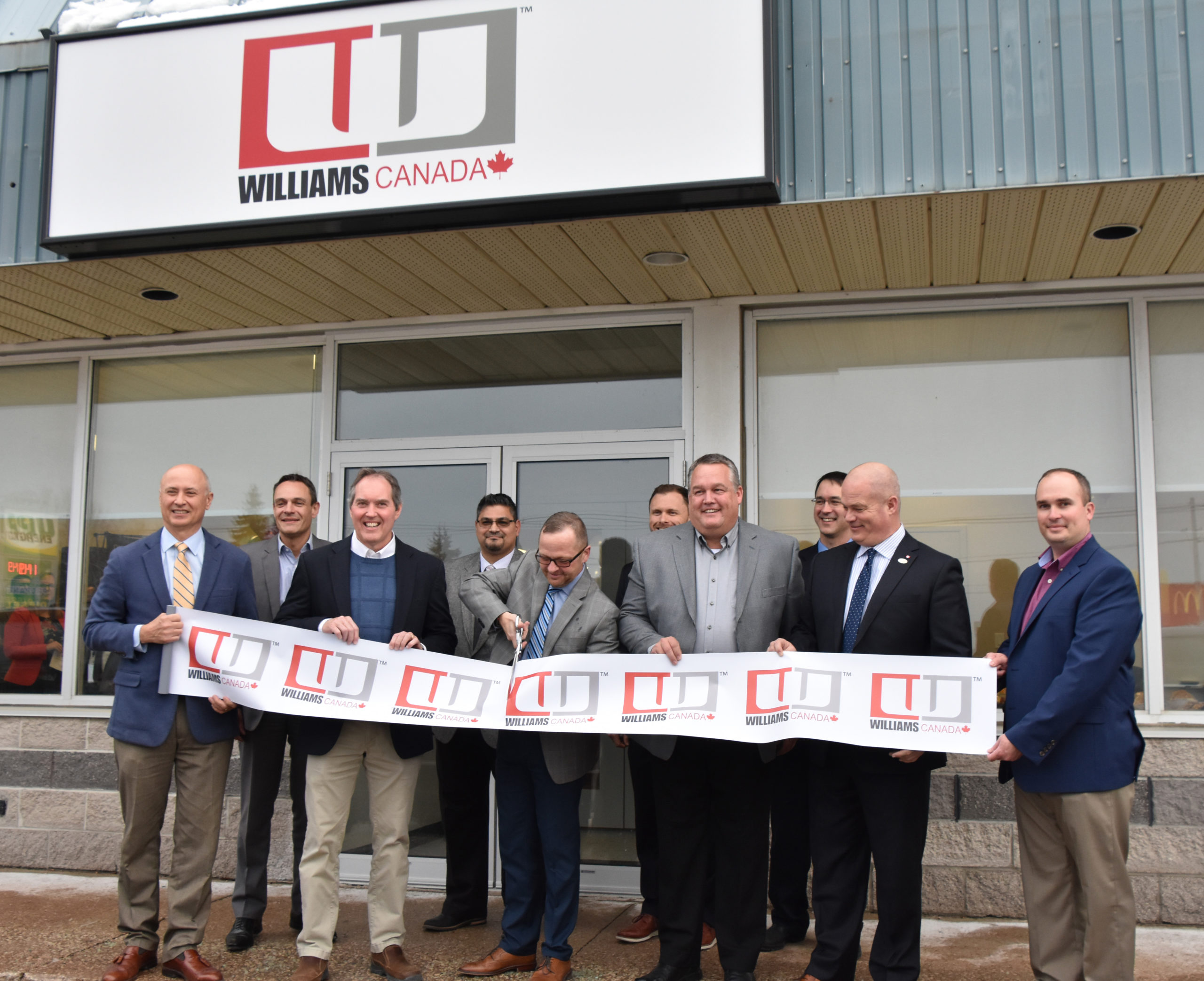 Williams Canada office opening in Port Elgin January 23 2020