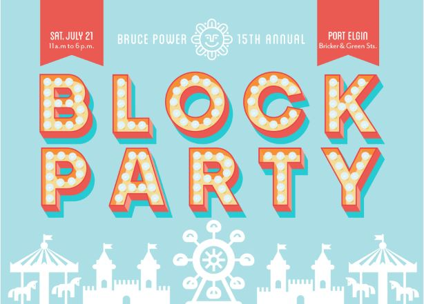 Block Party advertisement