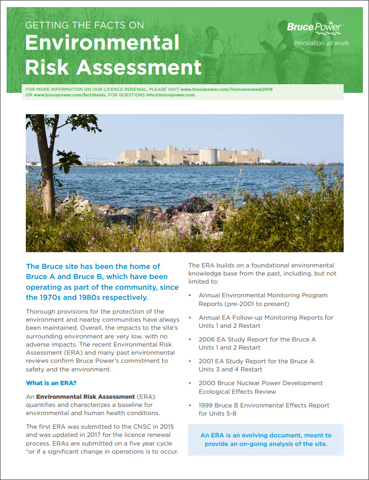 Facts on risk assessment