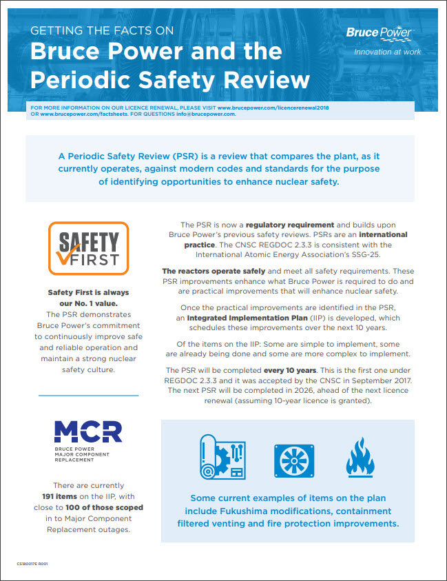 Facts on Periodic Safety Reviews