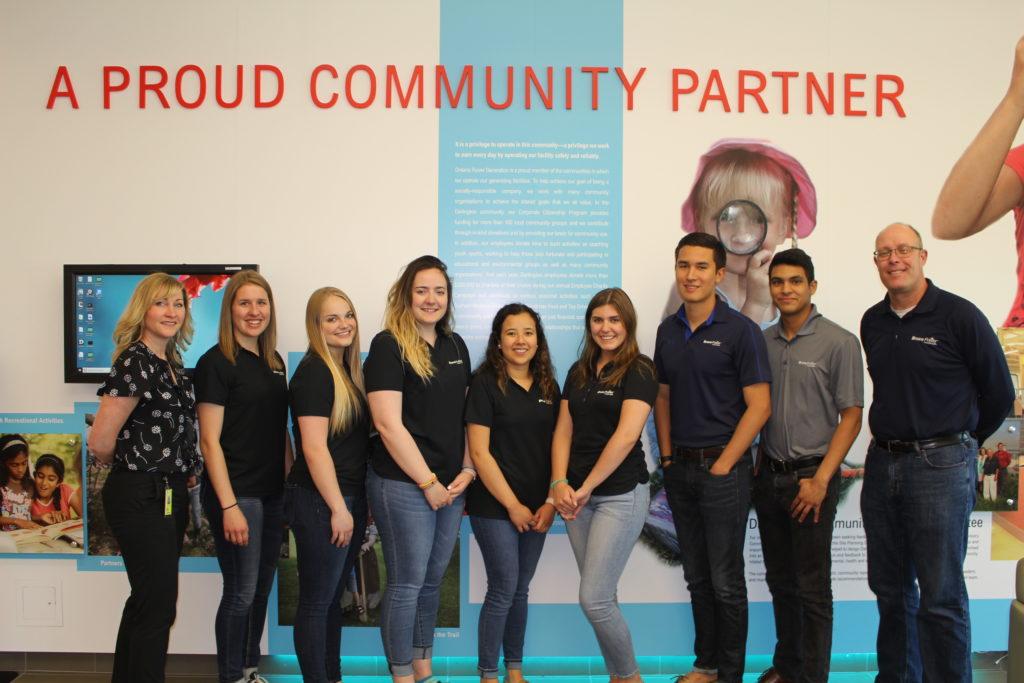 Students tour Darlington Energy Complex
