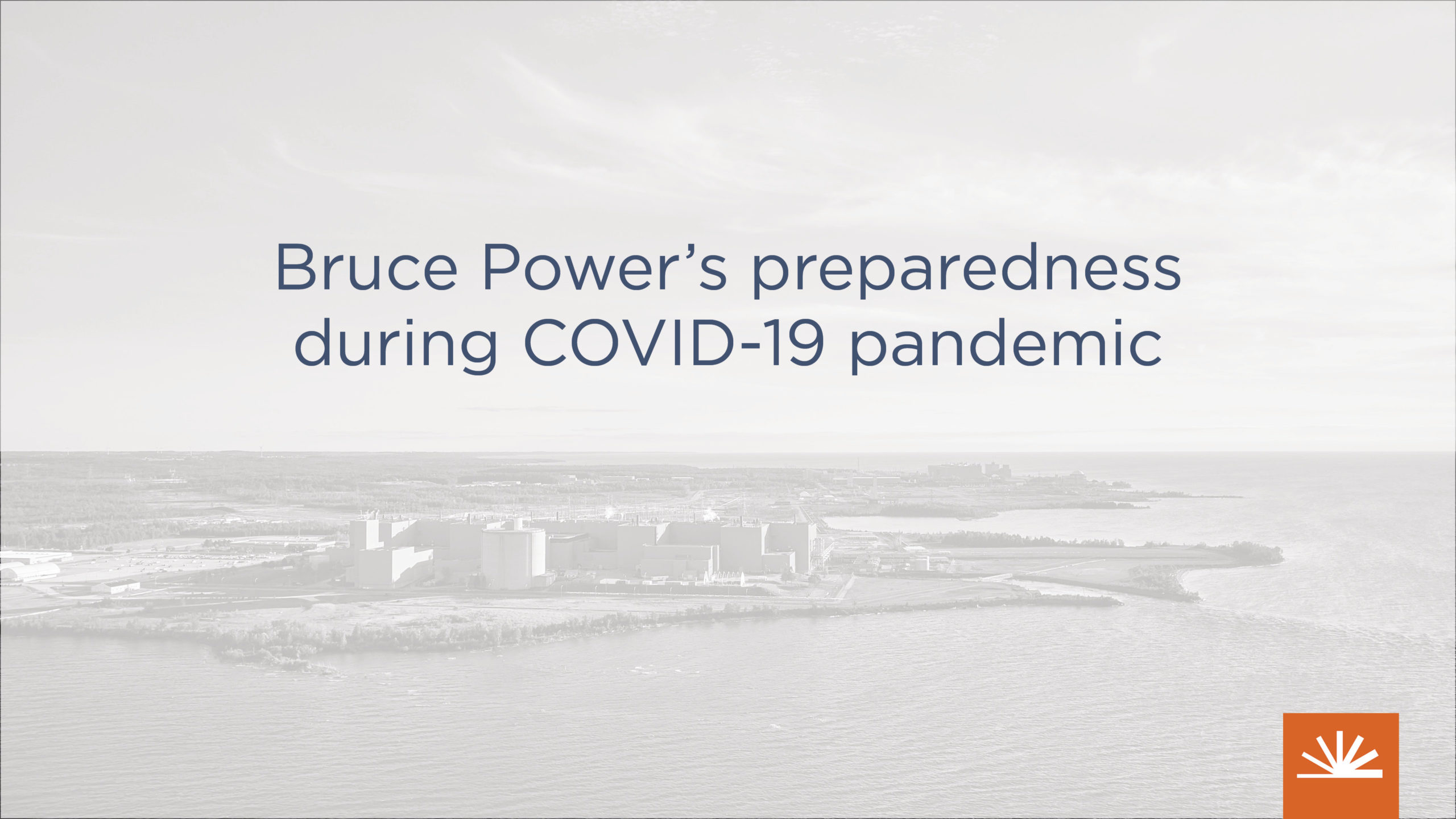 Bruce Power statement on COVID-19 actions