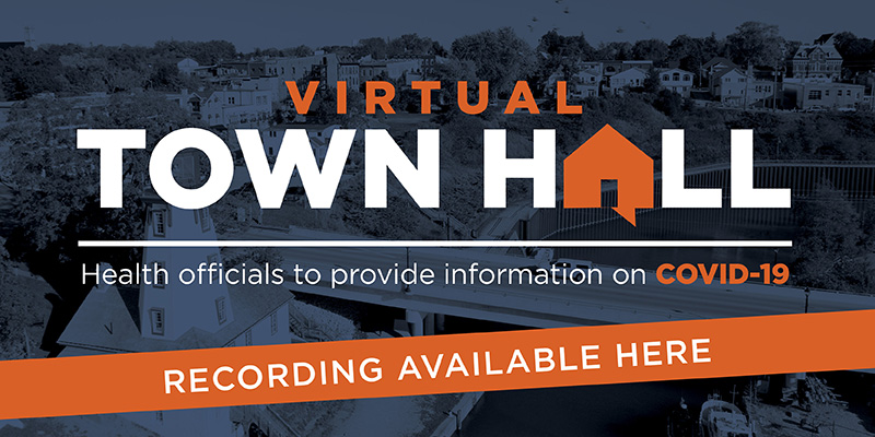 Virtual Town Hall recording available click here