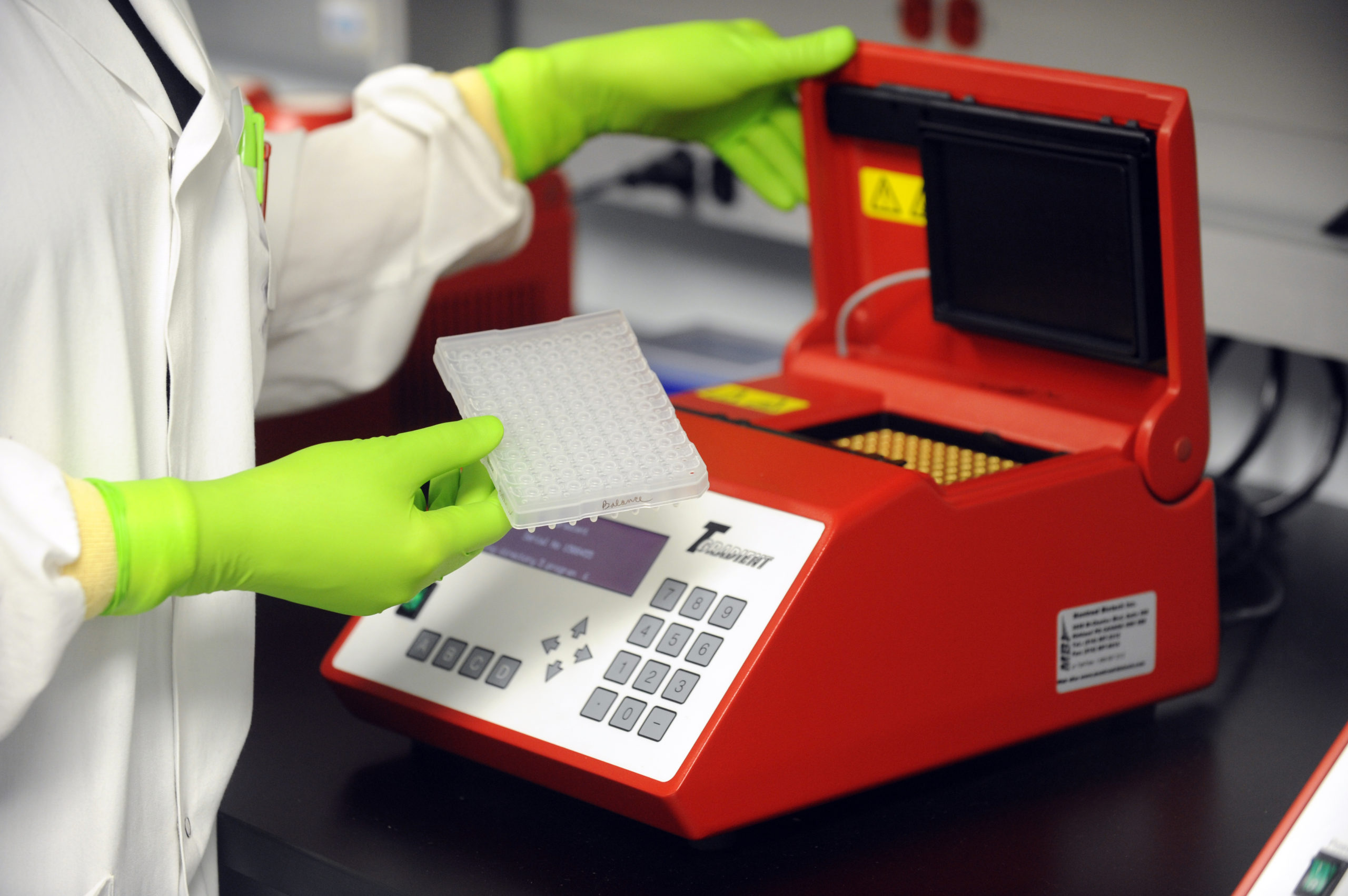 Medical testing machine