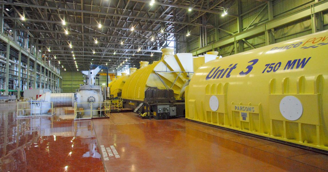 Unit 3 turbine hall