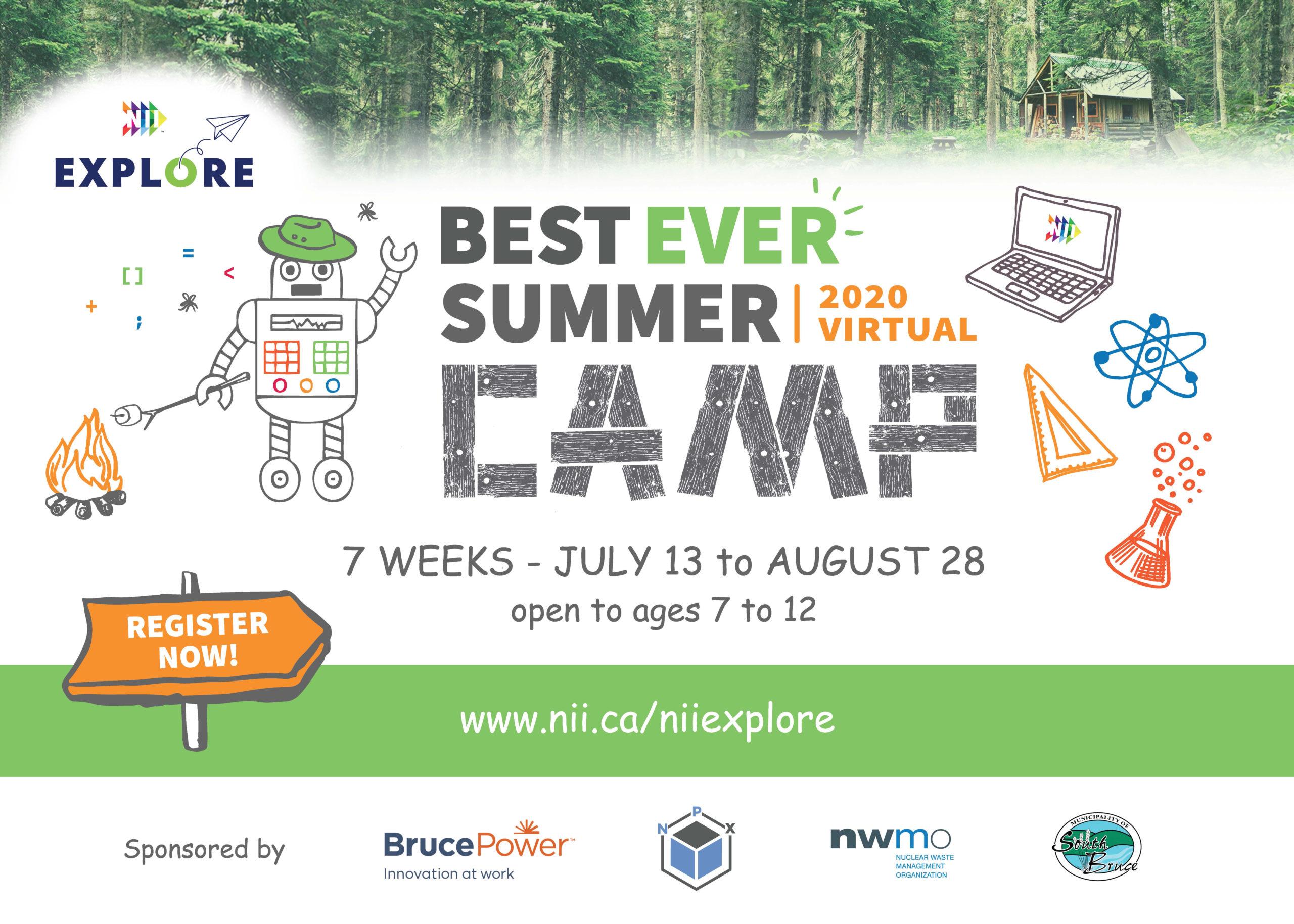 2020 Best Ever Summer Camp advertisement
