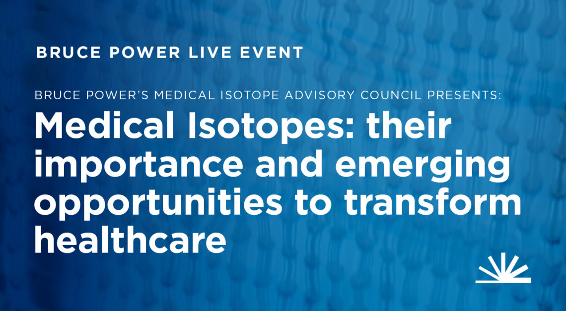 Medial isotope advisory council presents Medical Isotopes: their importance and emerging opportunities to transform healthcare