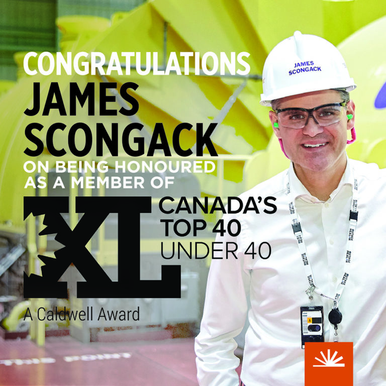 James Scongack Canada's Top 40 Under 40