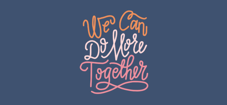 We can do more together logo
