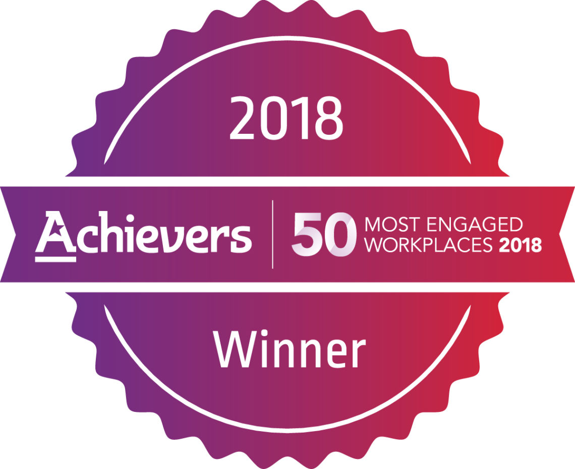 logo Achievers 50 Most Engaged Workplaces 2018