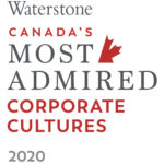 logo Waterstone Canada's Most Admired Corporate Cultures 2020