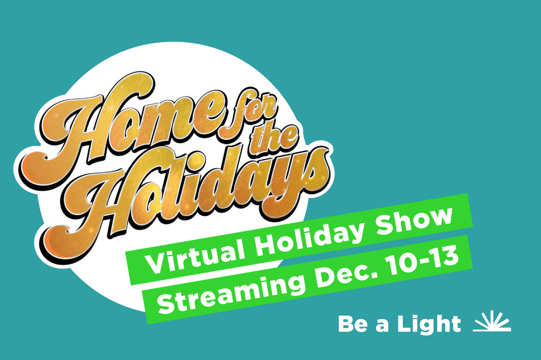 Virtual Holiday Show advertisement