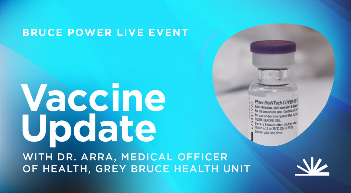 Vaccine update with Grey Bruce Health Unit