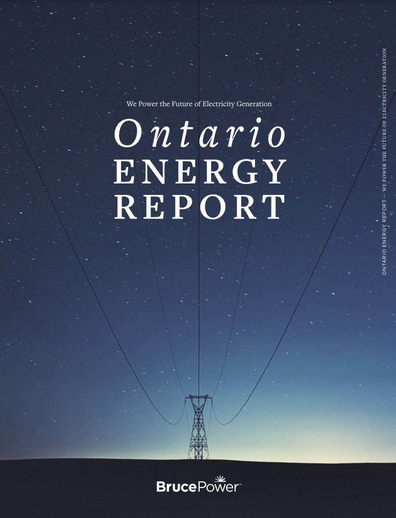 Ontario Energy Report cover