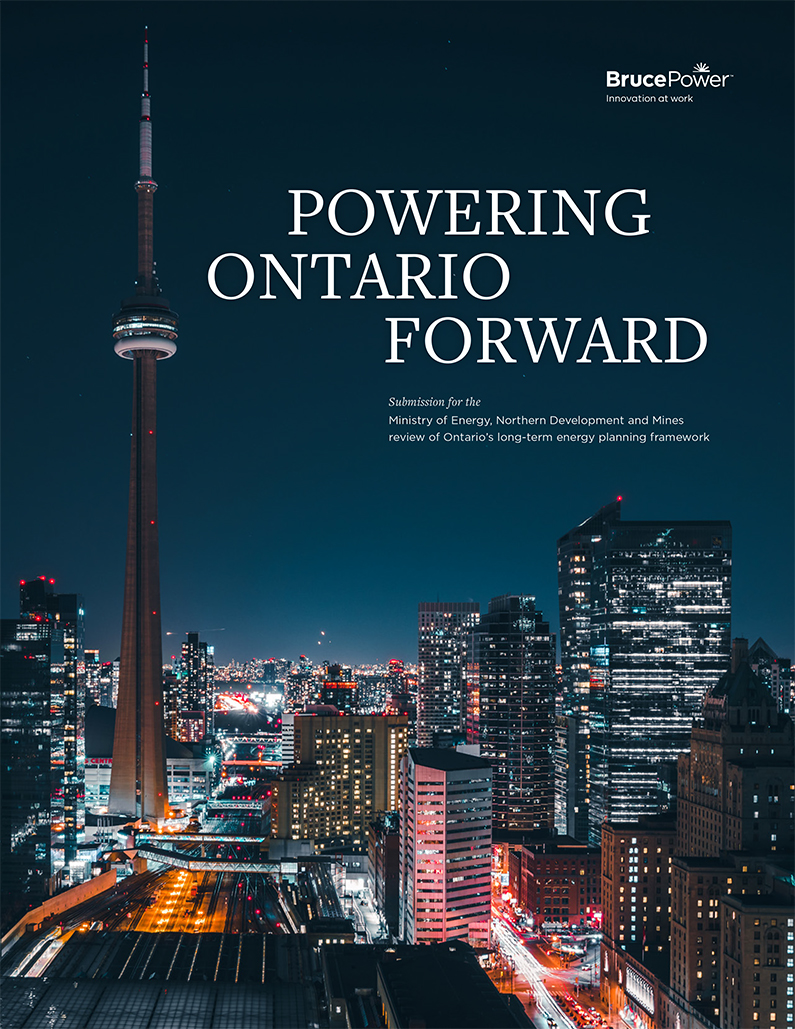 Bruce Power's Long-Term Energy Plan submission