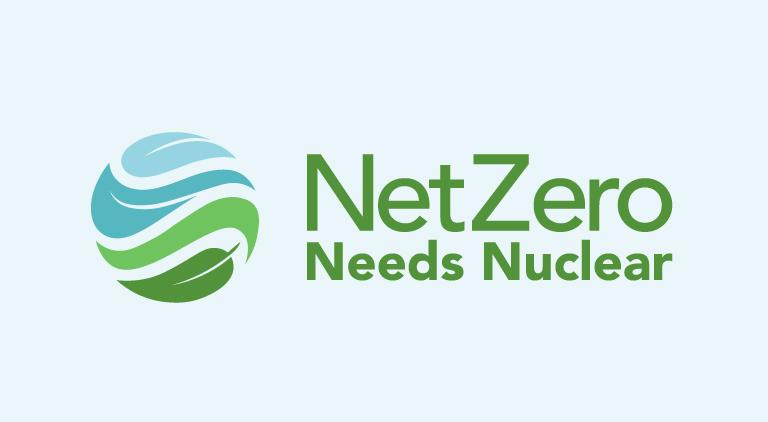 Net Zero Needs Nuclear logo